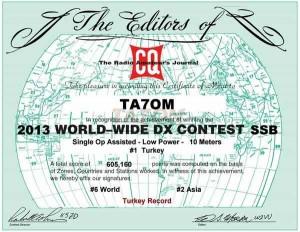 TA7OM_CQ_WW_2013